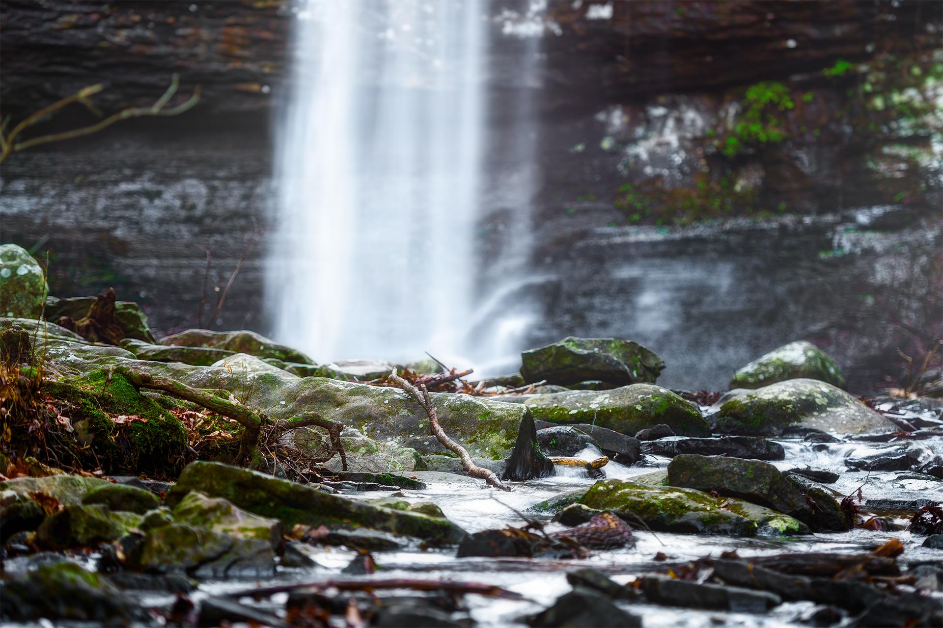 Cloudland Canyon Waterfall