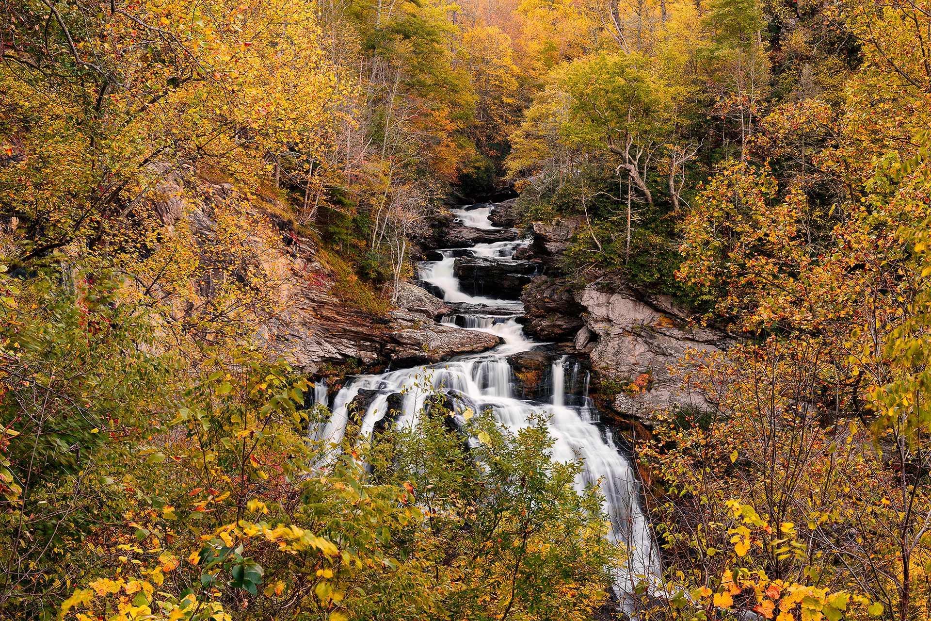 Autumn at Cullasuja Falls