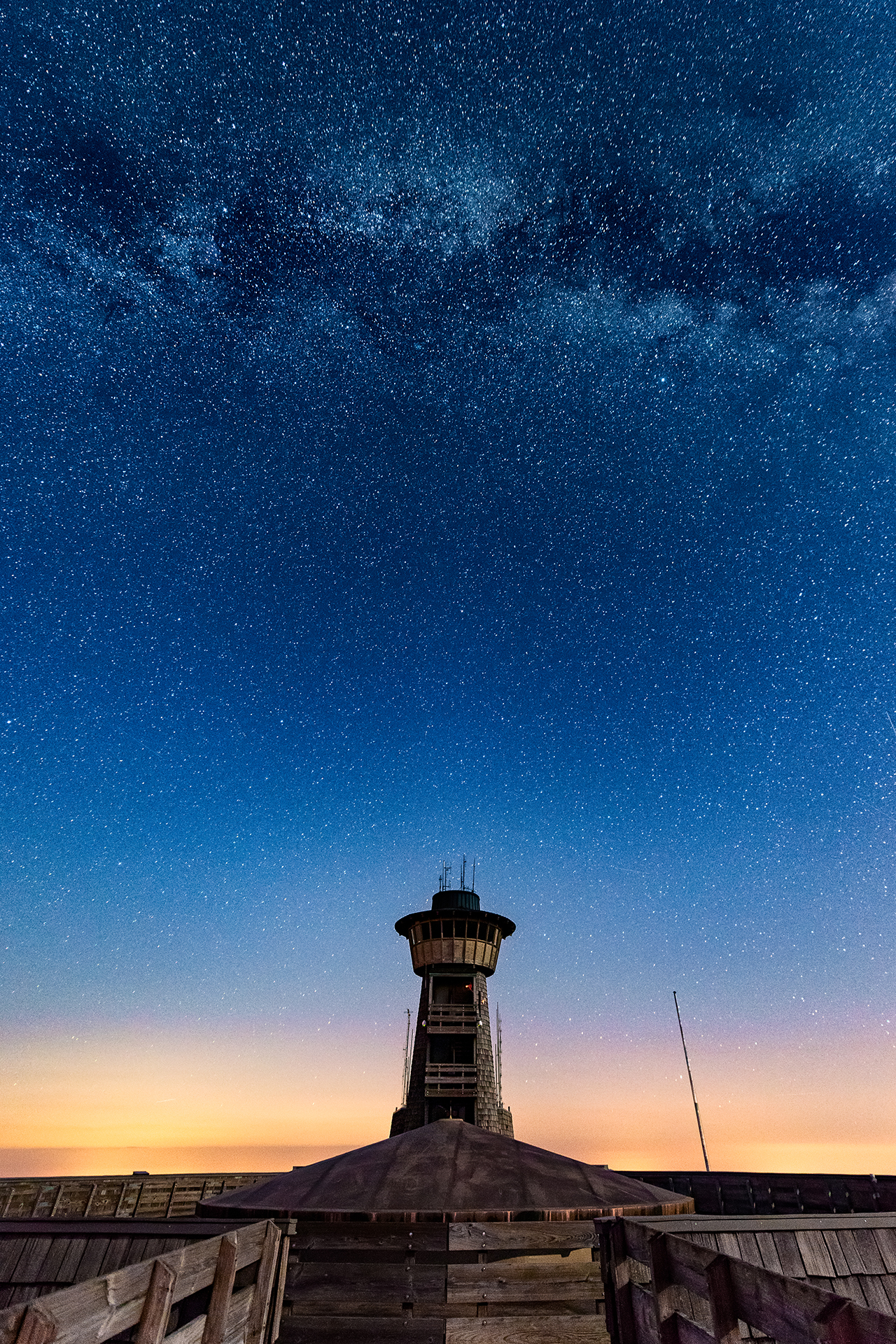 Milky Way Over Brasstown Bald