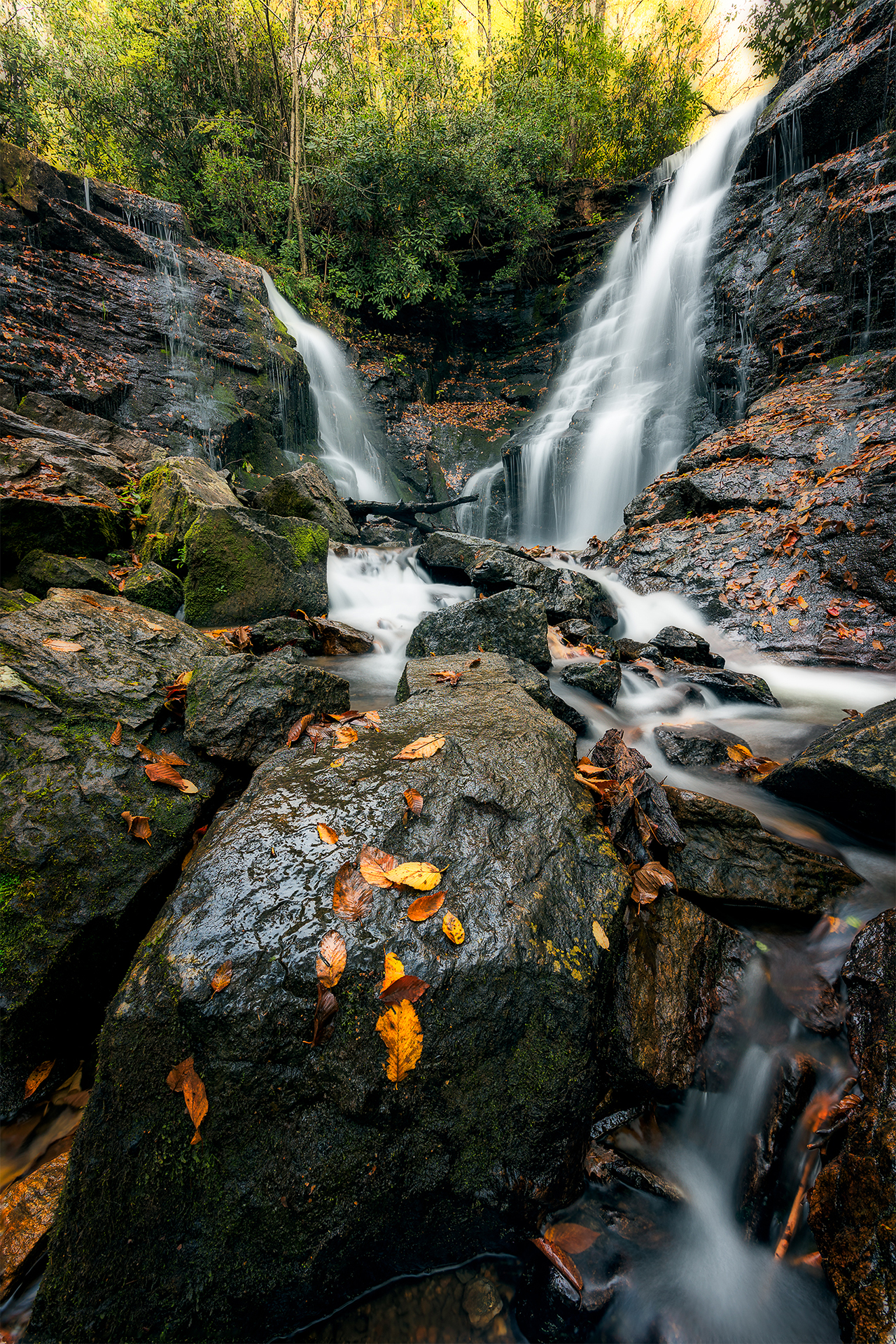 Soco Falls Autumn