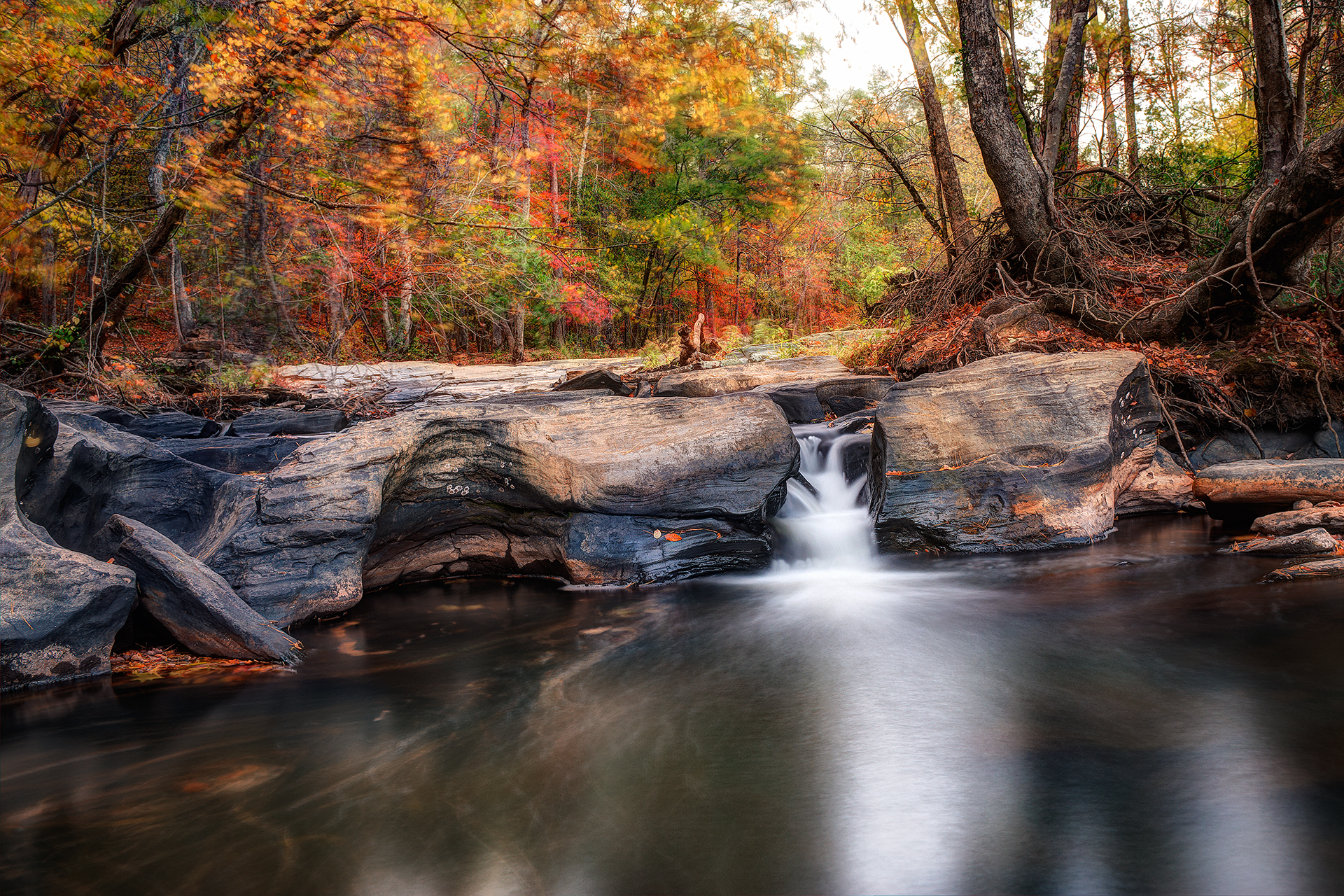 Sweetwater Creek State Park - Sweetwater Falls
