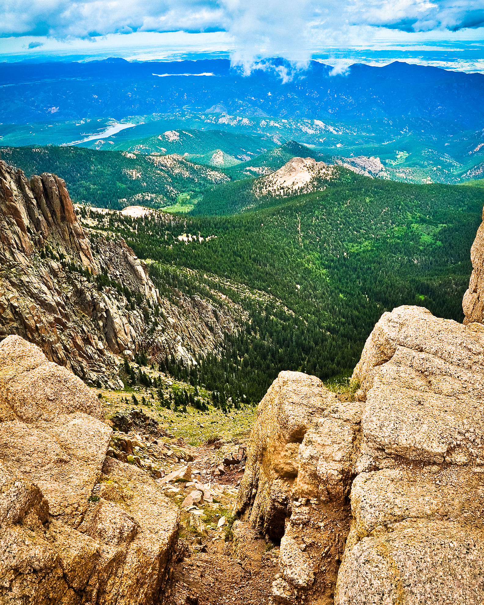 Garden of the Gods - Down the Mountain to the Meadow