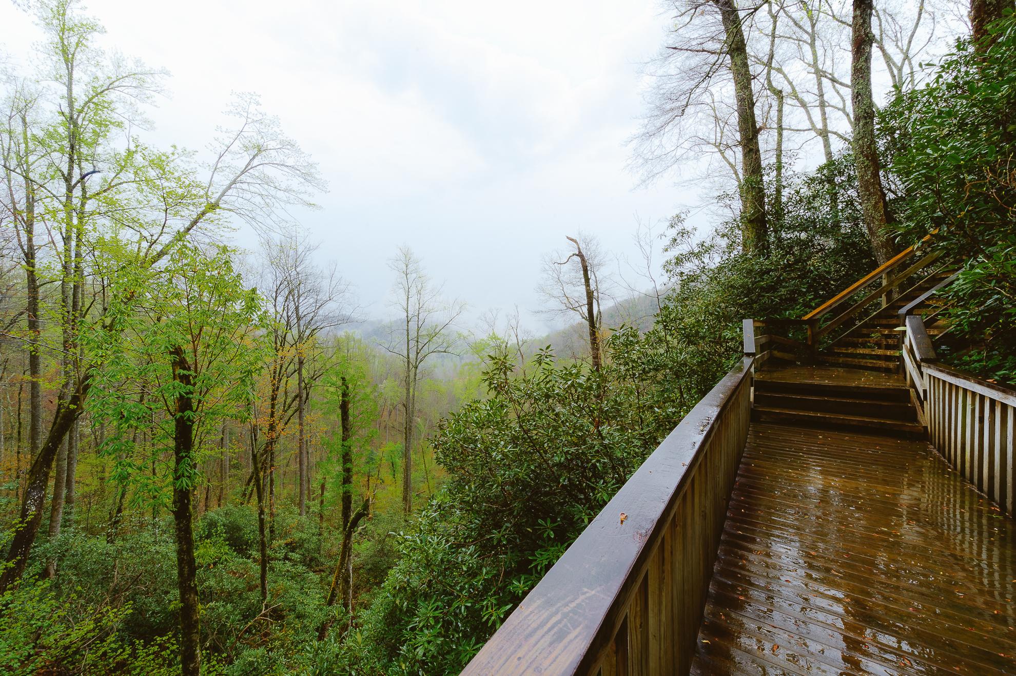 Adahi Falls Walkway