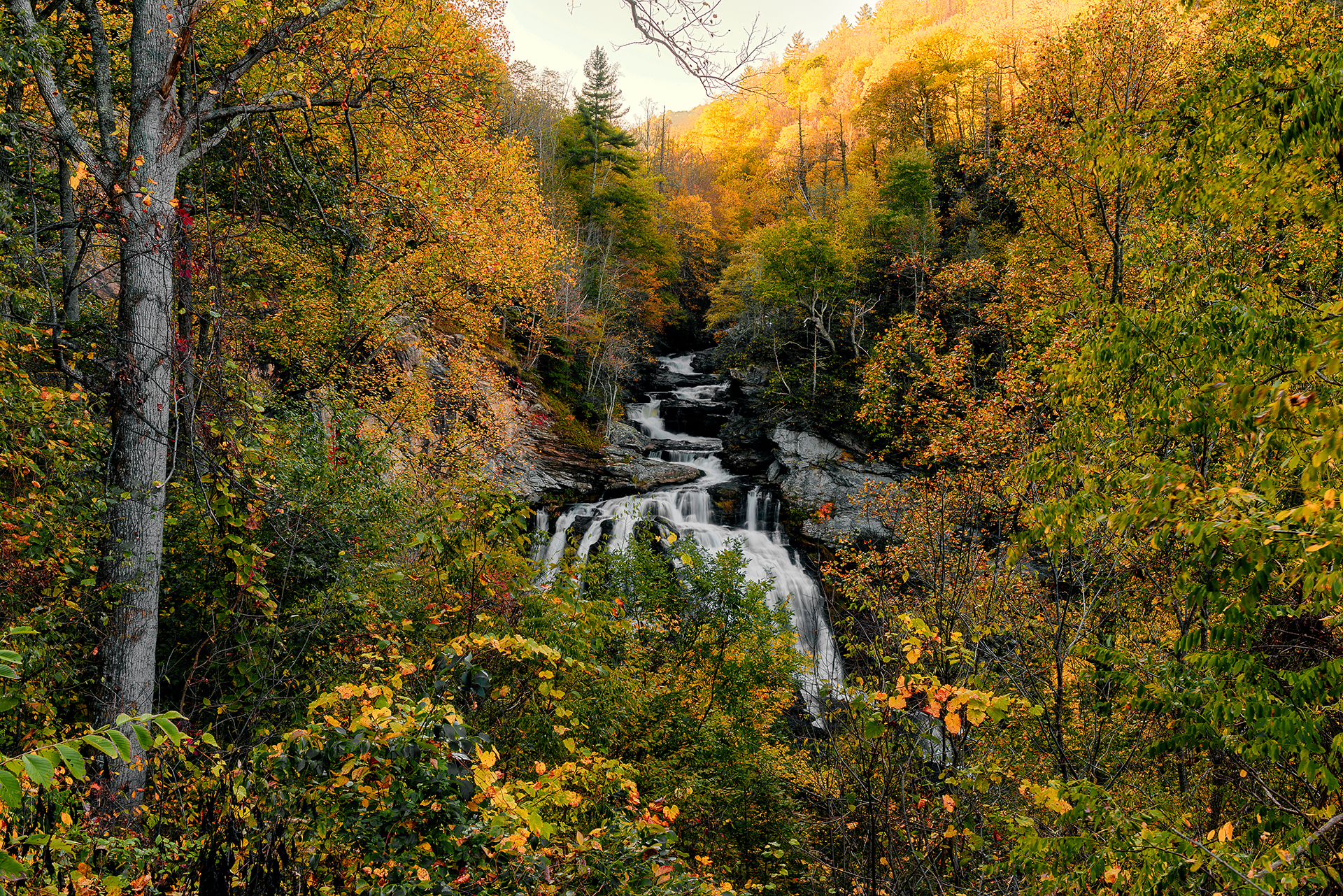 Autumn Wide at Cullasuja Falls
