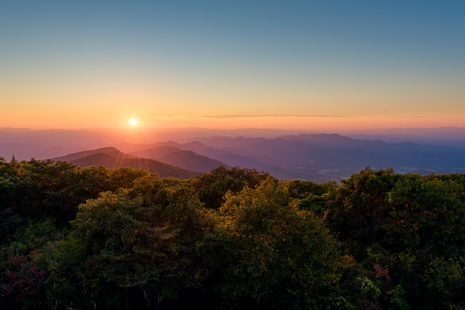 Brasstown Bald & The Burst