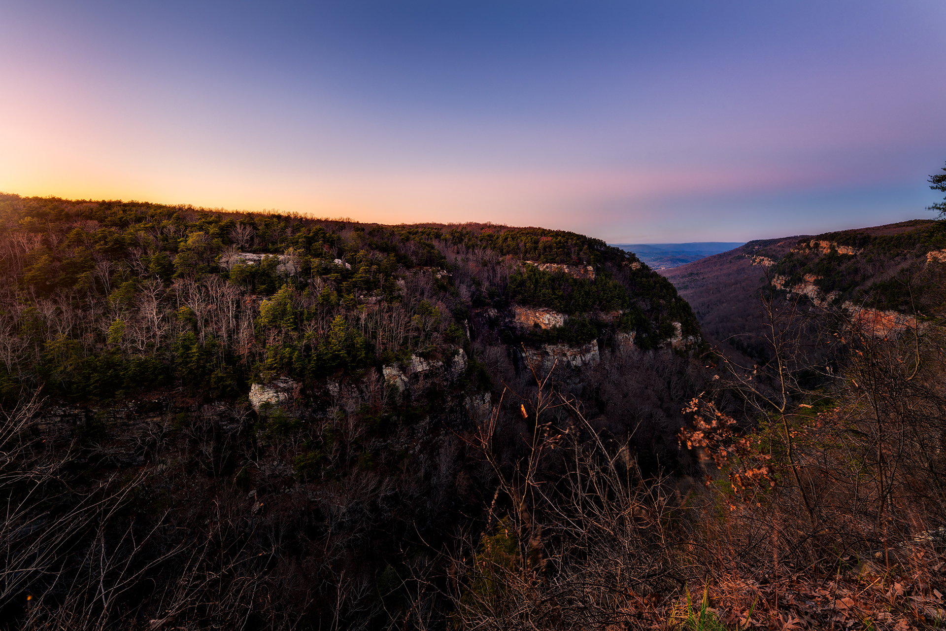 Cloudland Canyon Winter 2014