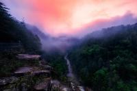 Tallulah Gorge State Park - Toward the Bottomless Sea