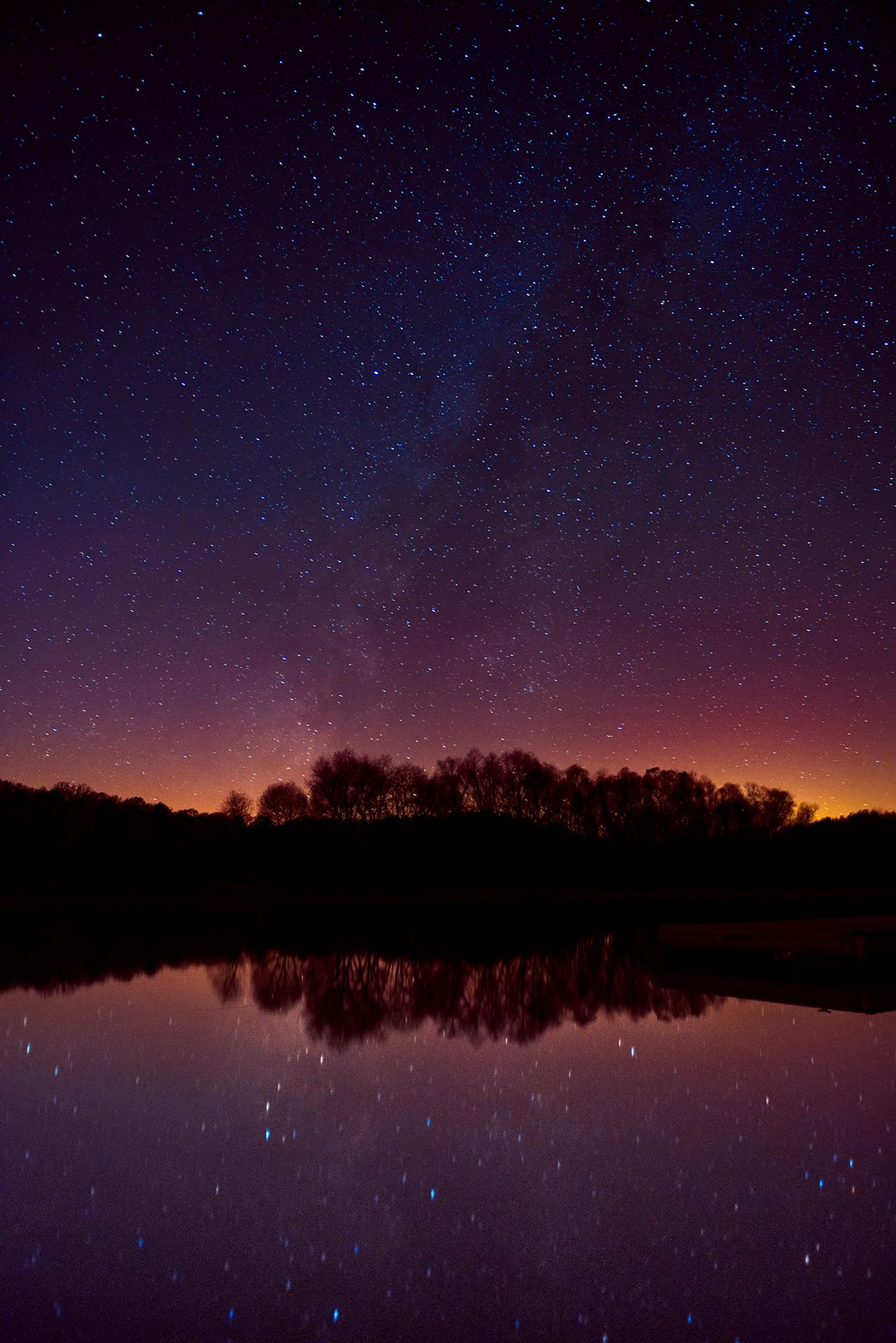 Under the Milky Way - Snake Creek Park