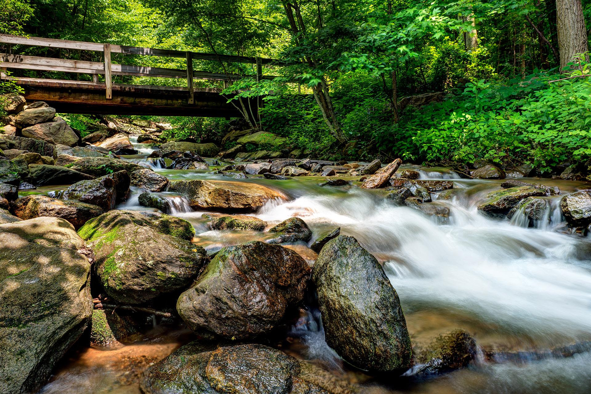 amicalola-falls-trail-hiking-creek-waterfall-1