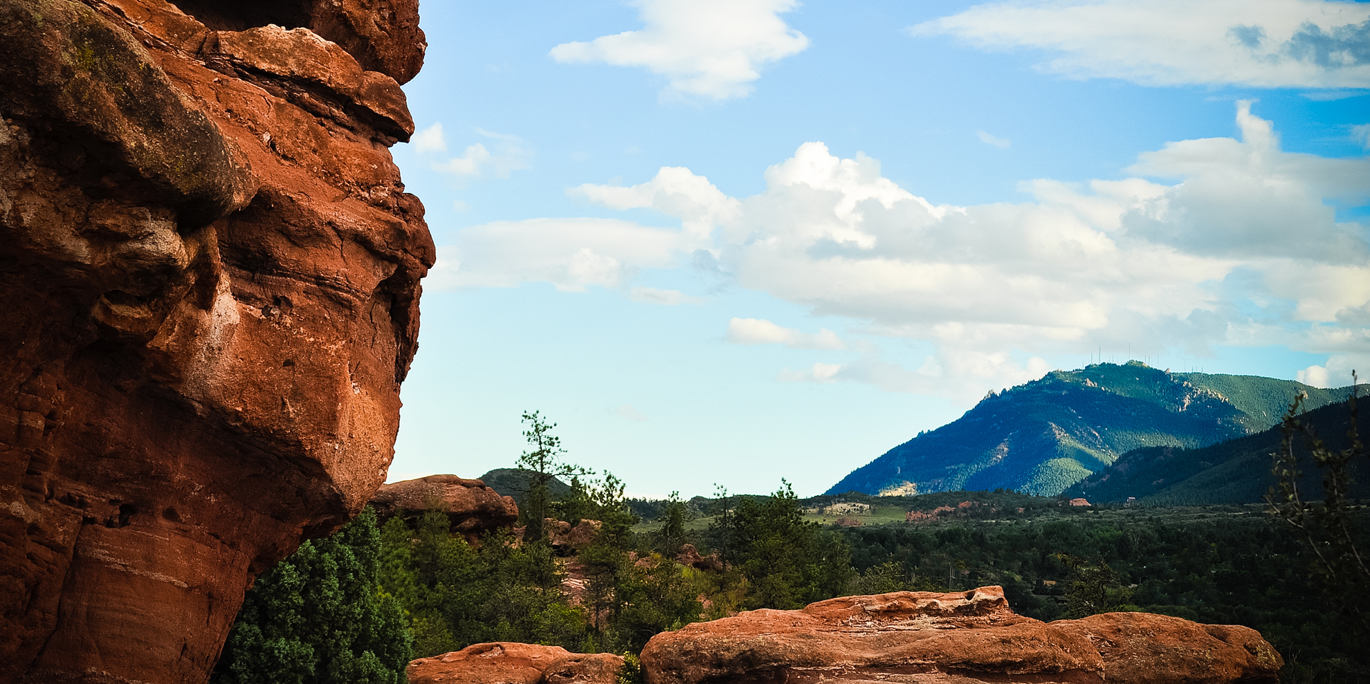 Garden of the Gods - Distances
